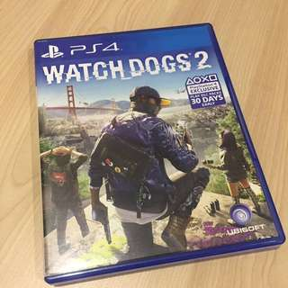 Watch Dogs 2 PS4 R3