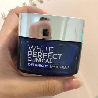 🚚 Loreal white perfect clinical 美白晚安凍膜