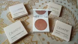 Highligther and Bronzer Pressed Powder