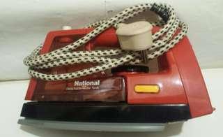 樂聲牌蒸汽電熨斗 NI-421E National steam dry iron 80年代 VINTAGE 產品 apple
