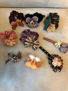 Hair Accessories from Paris and France