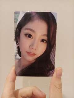 Lovelyz Jisoo Healing Photocard