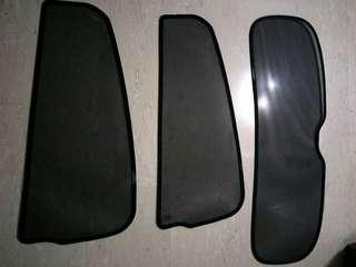 Honda HRV/ Vezel magnetic sunshades