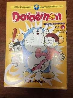 Komik doraemon koleksi berwarna vol 5