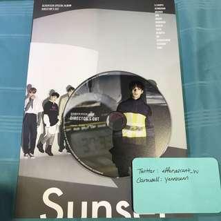 Seventeen Directors Cut Official Album with DK CD
