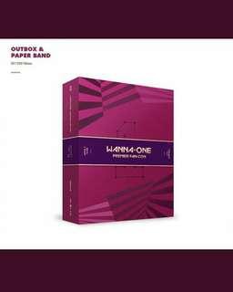 Wanna one premier fan- con DVD VER
