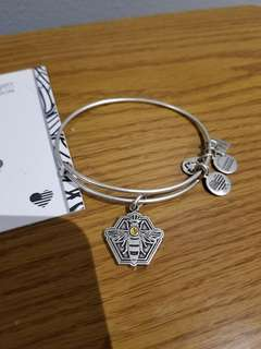 Alex and Ani Queen Bee with Swarovski crystal bangle