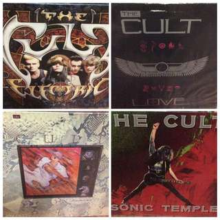 Vg+ the cult sonic temple dreamtime love electric record clearance vinyl rock