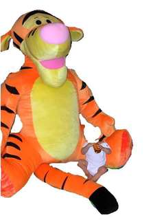 超大跳跳虎毛公仔 Giant Tigger stuffed character