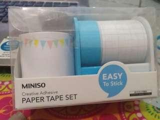 Miniso Paper Tape Set