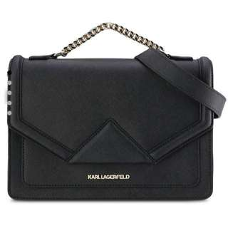 Karl Lagerfeld K Klassik Safiano 2 Way Bag