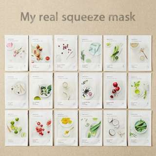 🚚 ❤️INSTOCKS❤️ Innisfree My Real Squeeze Mask