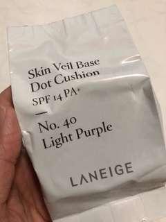 Laneige skin veil base dot cushion