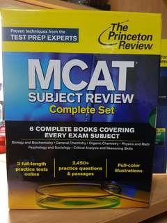 2015 MCAT textbooks