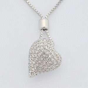 Brand New Unopen Swarovski Charming Blink Heart Pendant