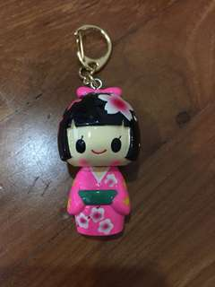 Korean Girl Keychain
