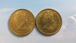1963及1975年香港一毫