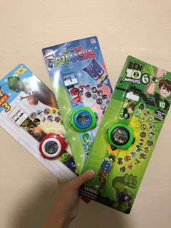 Projector Watch with Different images!! NEW DESIGNS children gift toy