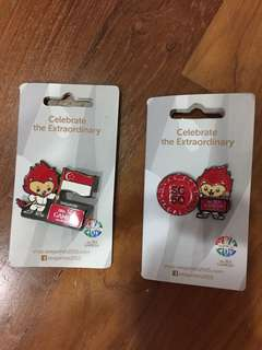 28th Sea Games Pins