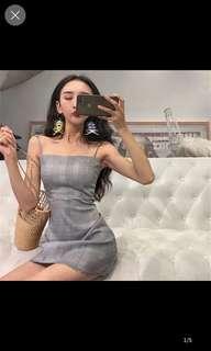 Jaelyn Plaid dress