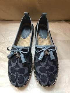 Coach Madison espadrille shoe