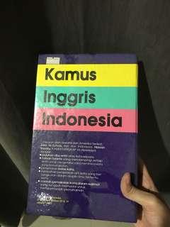 Kamus Bahasa Inggris-Indonesia