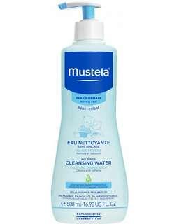 500ml Mustela no rinse cleasing water