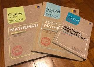 O Level Yearly TYS E & Amath