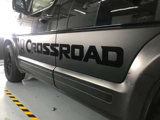 Crossroad decal