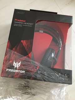 Predator gaming Headset (sealed)