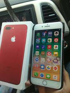 Iphone Red 7 Plus 256 GB