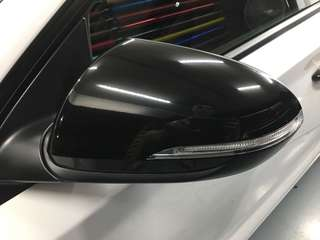 Side mirror wrap