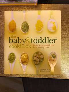 The bang & toddler cookbook by Karen ansel ,ms , RD & charity ferreira