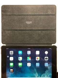 Slate Grey iPad Air 64GB Wifi (Coach Cover)