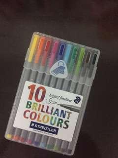 Triplus Fineliner (10 pens pack)