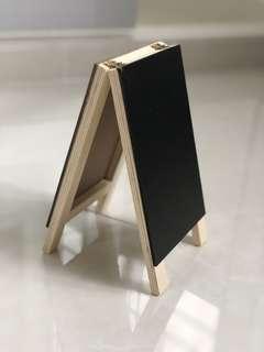 Decor black board (12 x 21 cm)