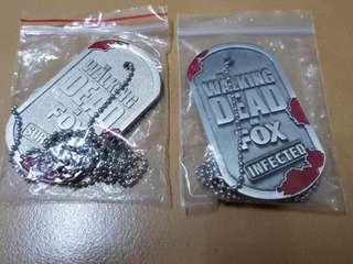 Walking dead medallion