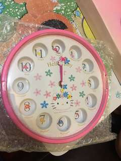 Sanrio Hello Kitty Wall Clock