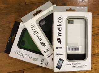 Melkco Leather Snap Cover for iPhone 5