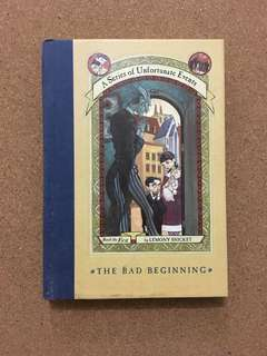 A Series of Unfortunate Events Book 1: A Bad Beginning