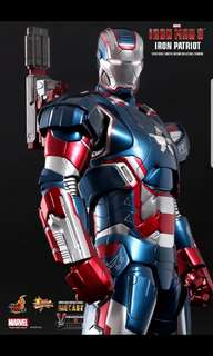 Hot Toys : Iron Man 3 - Iron Patriot