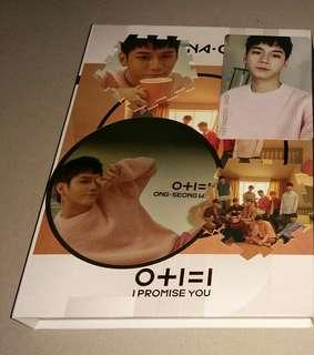 Wanna one i promise you ong set