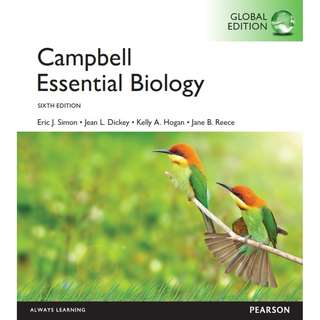 Campbell Essential Biology Global Edition 6th Edition