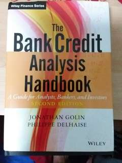 Bank Credit Analysis Handbook (Wiley finance series hardback) - original price 330$