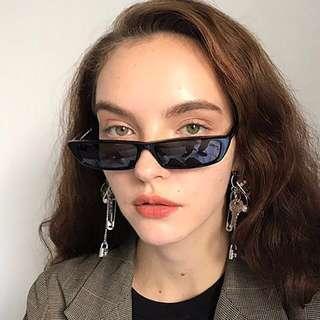 READY STOCK!! skinny rectangle sunglasses