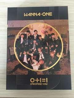 Wanna One I.P.U album (unsealed)