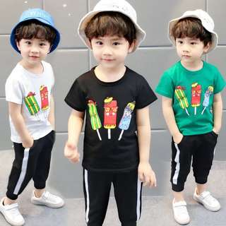 Little Kid 2 Pcs Set - DFR212