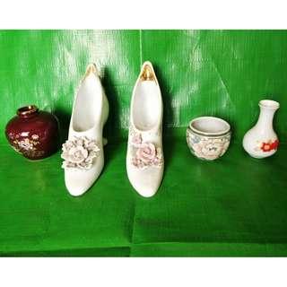A group of porcelain 5 pieces