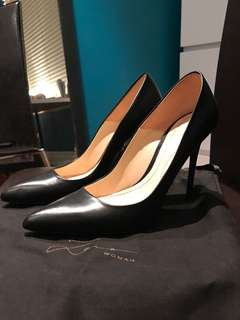 Zara leather heels