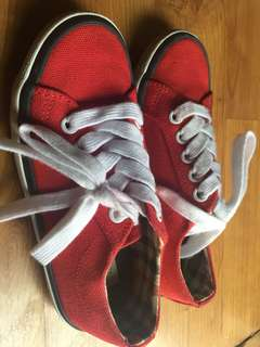 NEXT Red Sneakers